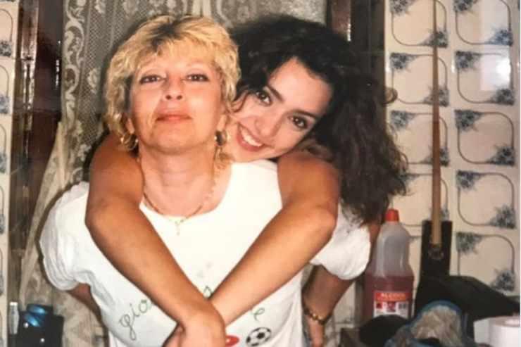 Ambra Angiolini con mamma Doriana