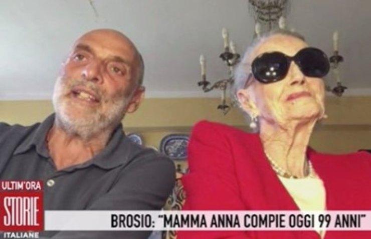 Paolo Brosio mamma