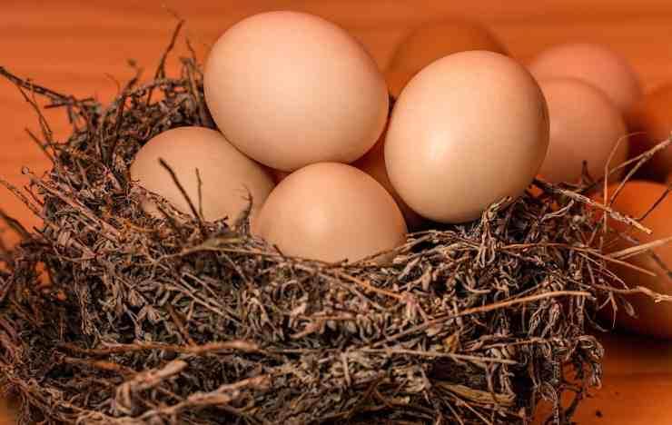 Pasta con l'uovo segreto