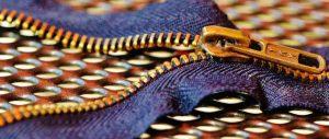 riparare zip vestiti