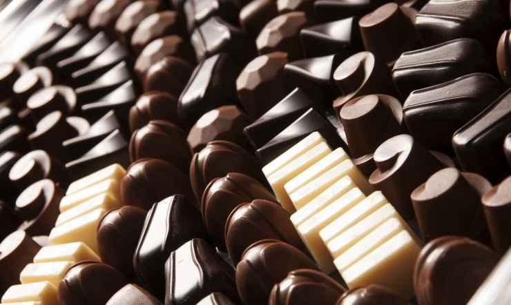 caramelle cioccolato ricetta