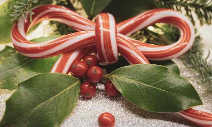 bastoncini zucchero natalizi