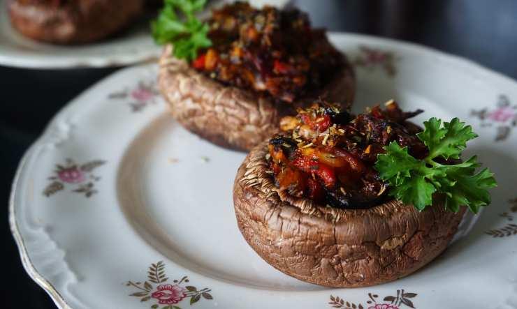 funghi ripieni ricetta