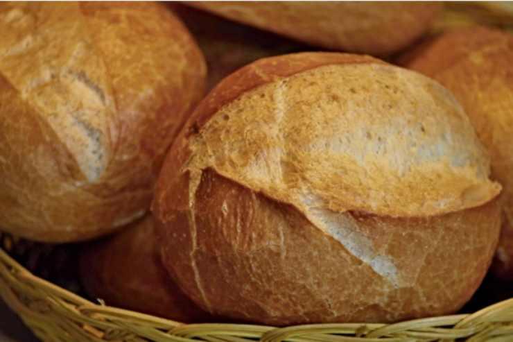 Cestino di pane per Natale