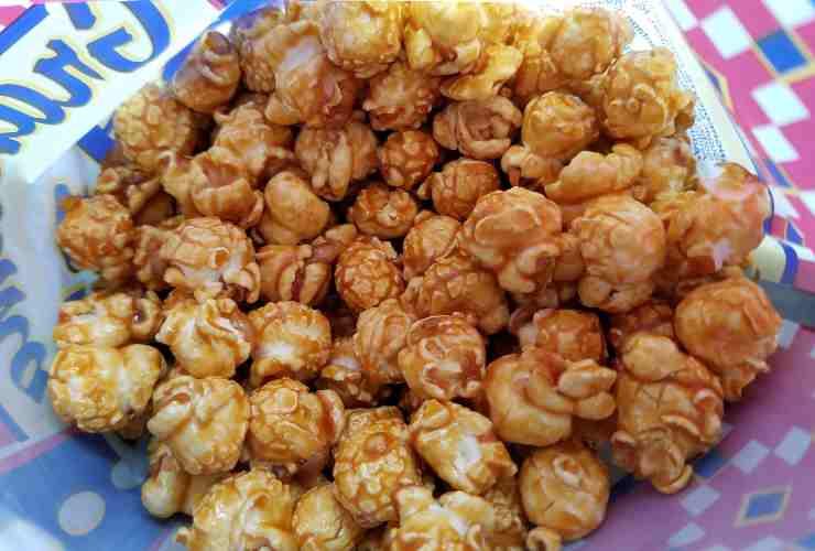 popcorn ricetta natalizia