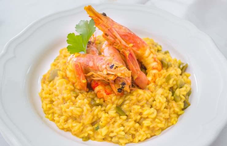risotto agrumato ricetta