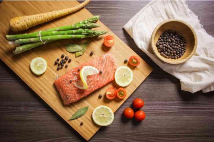 Tronchetto salato con salmone