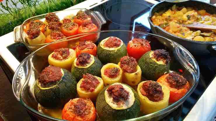 zucchine farcite secondo