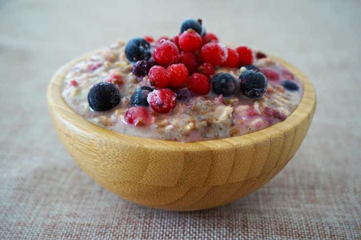 sana colazione porridge