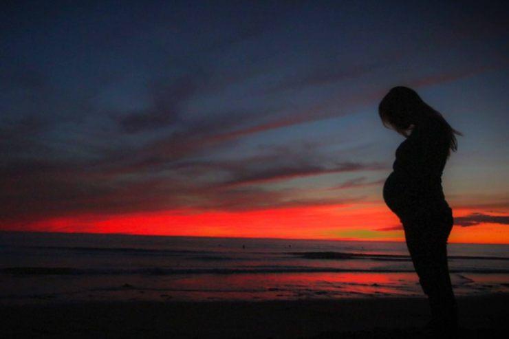conduttrice annuncia la prima gravidanza