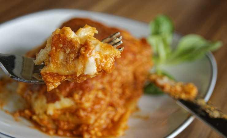 lasagne al radicchio ricetta