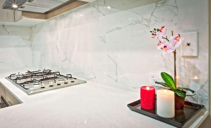 lucidare foglie orchidee