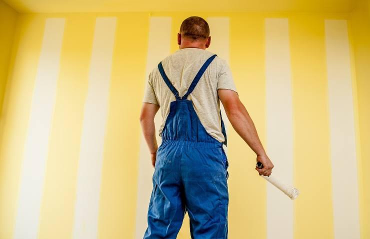 ridipingere pareti faidate