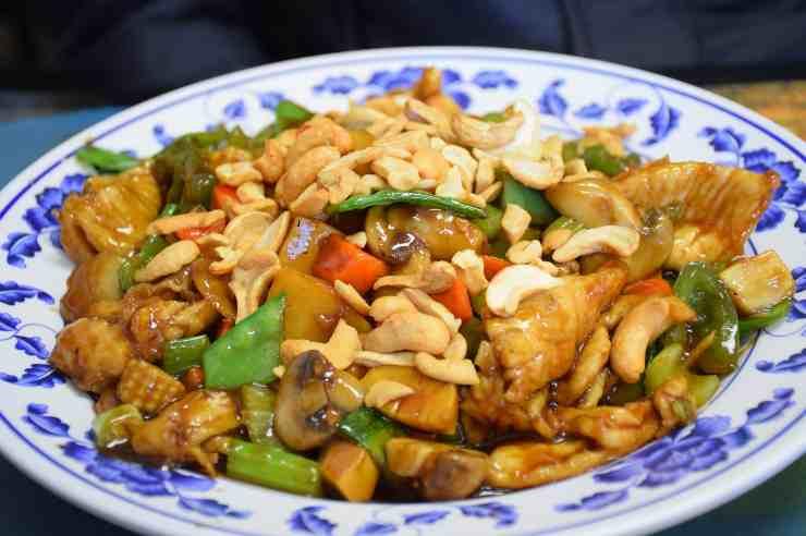 pollo mandorle ricetta