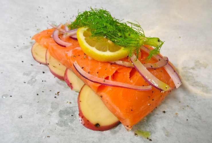 pesce furbo ricetta