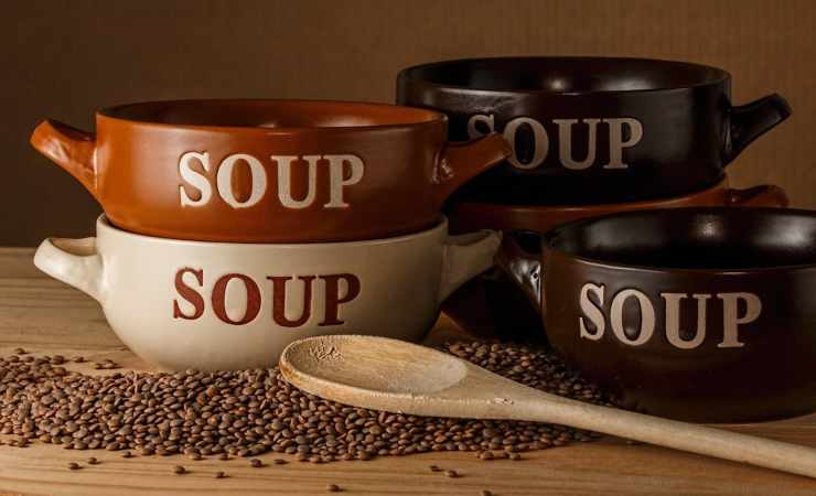 zuppa di legumi ricetta
