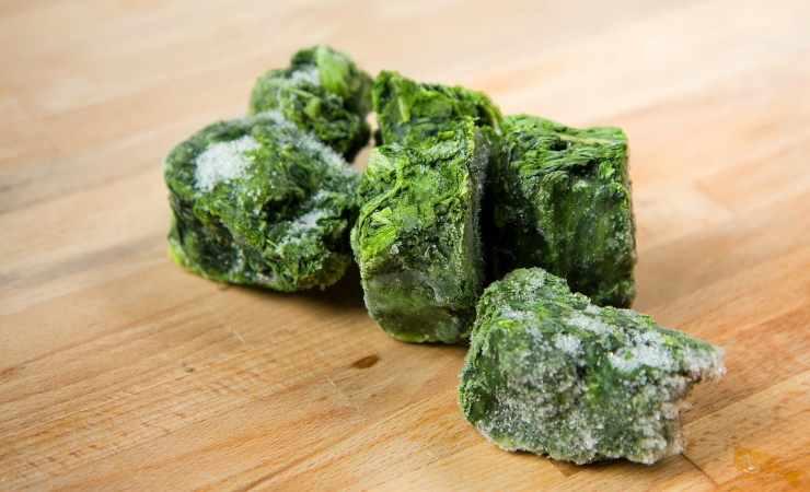 spinaci al microonde