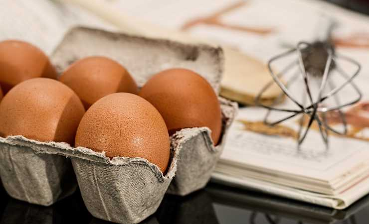 uovo sbattuto ricetta