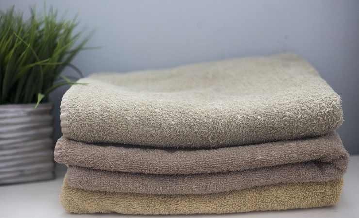 riciclare asciugamani