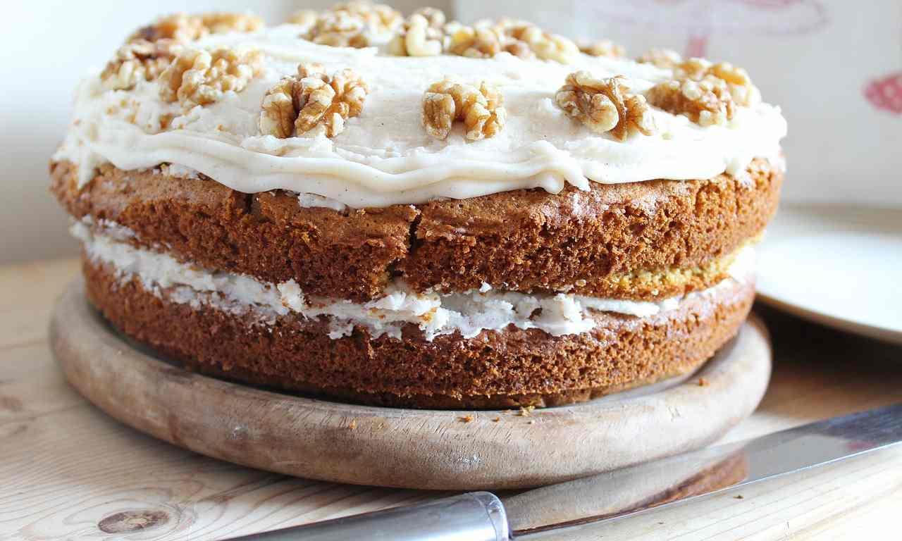 Cheesecake frutta secca ricetta