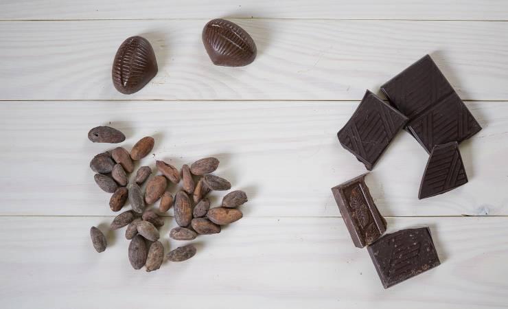 cioccolato a dieta