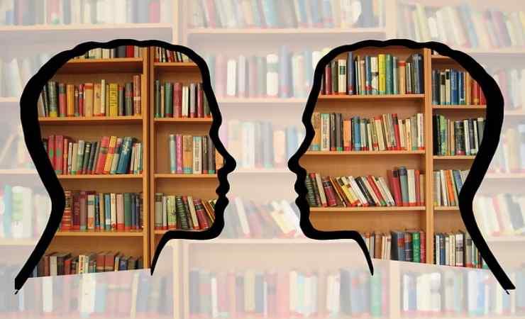 libreria in ordine