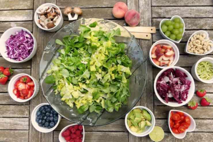 Frutta e verdura che vanno a male