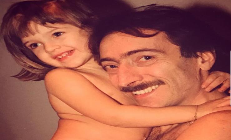 Guenda Goria e il papà