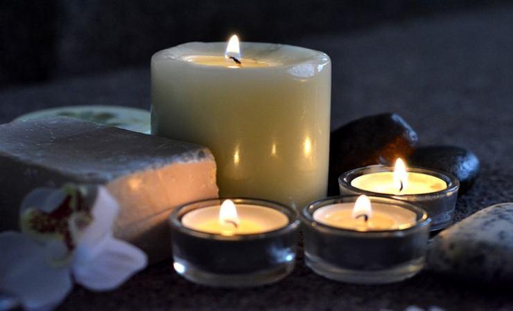 contenitori delle candele