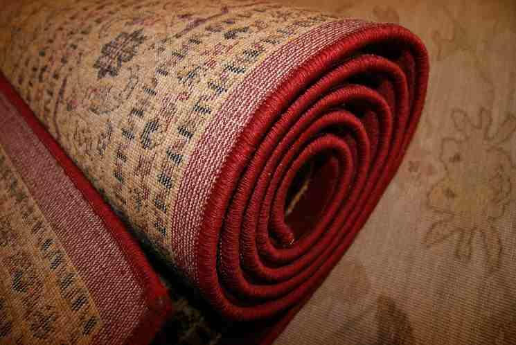 Segni di bruciatura sui tappeti
