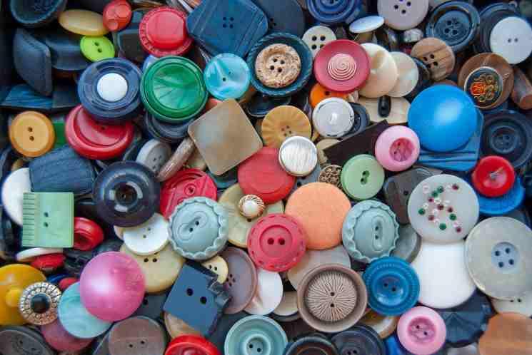Come riutilizzare i vecchi bottoni