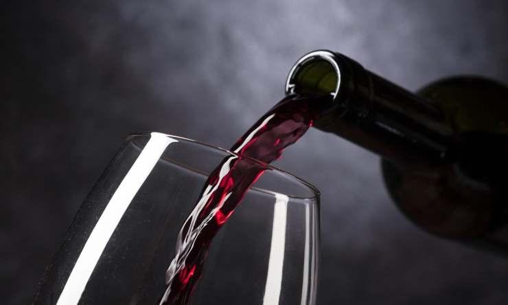 macchie di vino