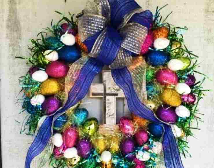 ghirlanda Pasqua