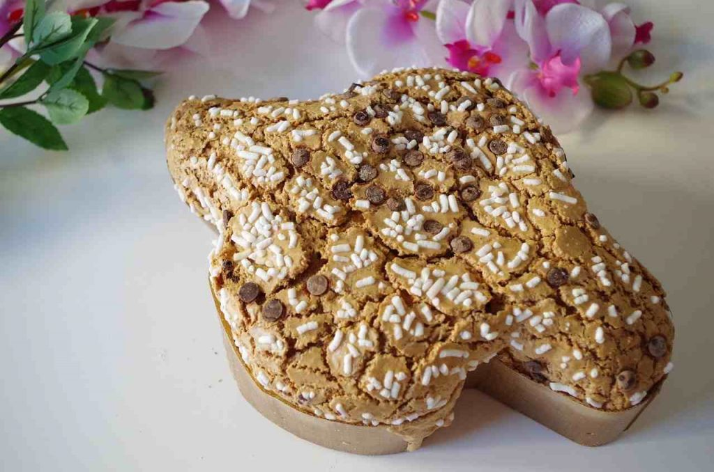 colomba pasquale, farciture