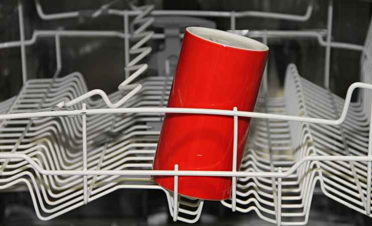 caricare lavastoviglie