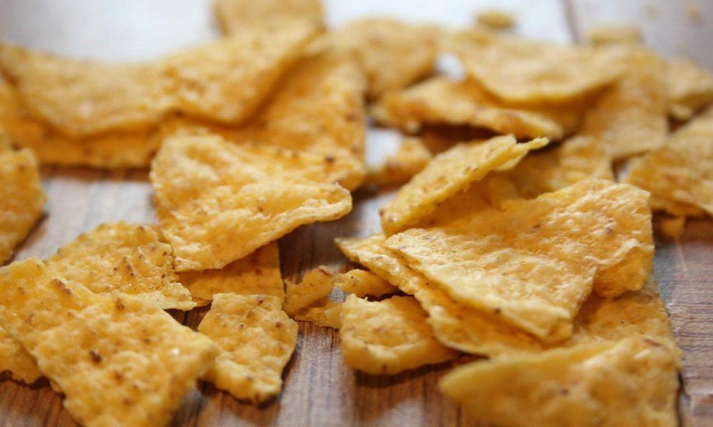 nachos fatti in casa