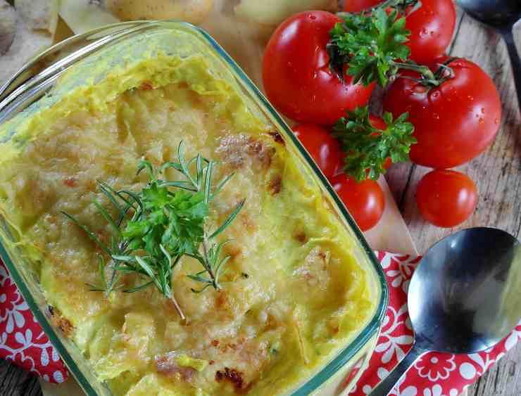 ingrediente pasta patate