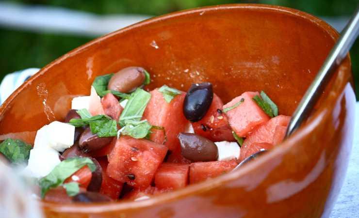 insalate con olive