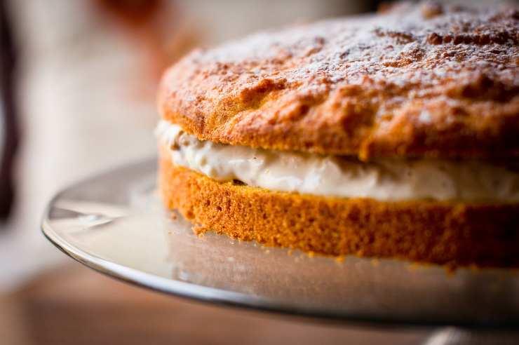 torta carote vegana