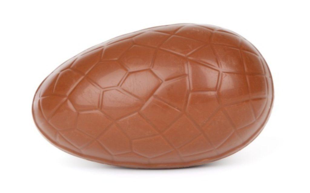 uova di Pasqua senza stampo