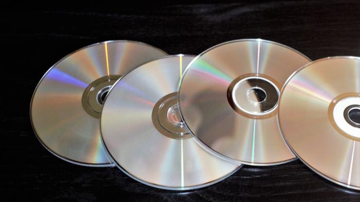 riutilizzare vecchi cd