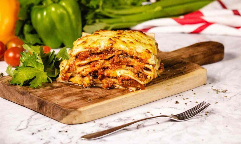 lasagna carciofi salmone