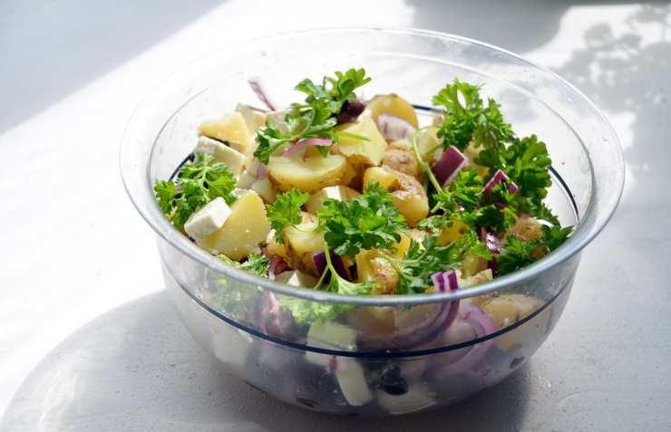 contorno veloce insalata