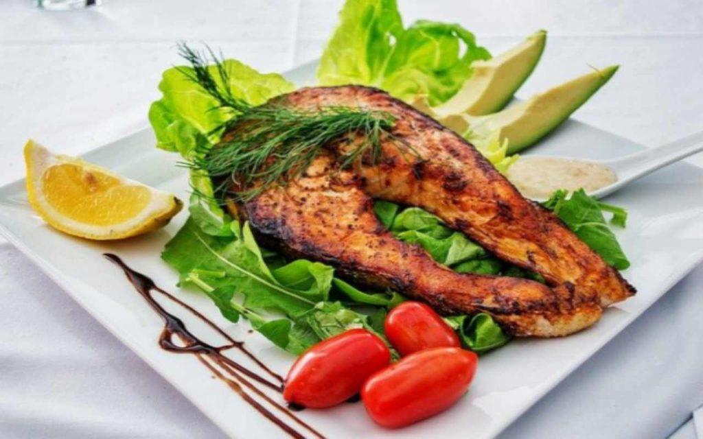 cena veloce salmone