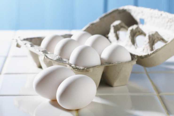 acqua cottura uova
