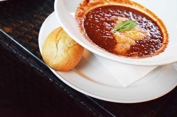 zuppa panettiere pranzo