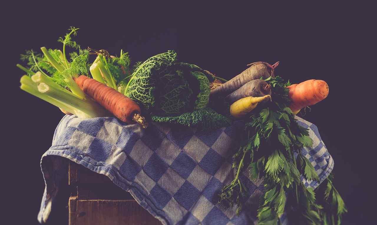 food art verdure bambini