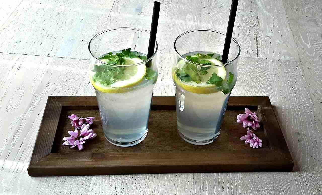 acqua aromatizzata dieta