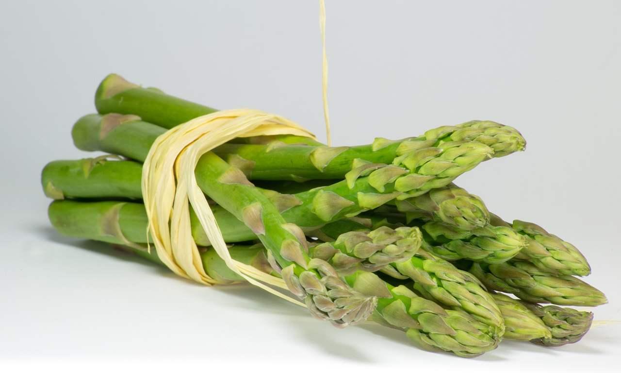 asparagi risotto cena