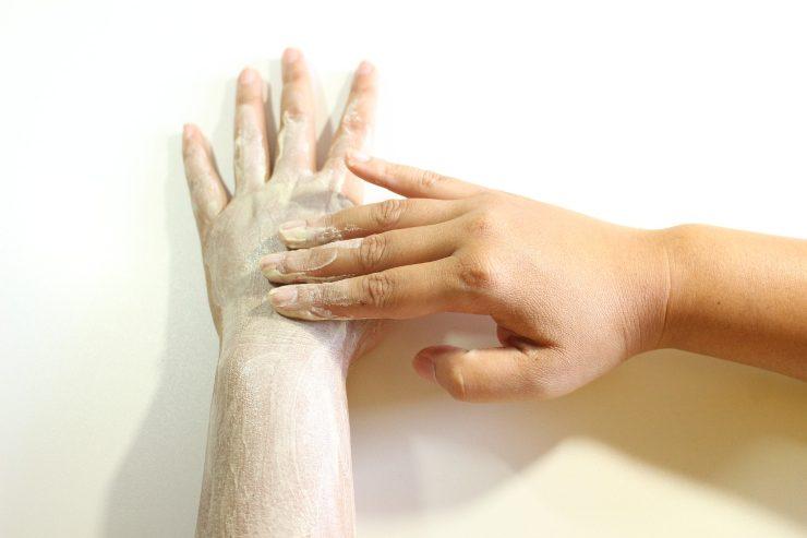 Scrub pelle